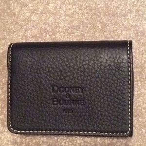 Dooney and Bourke brown trifold wallet